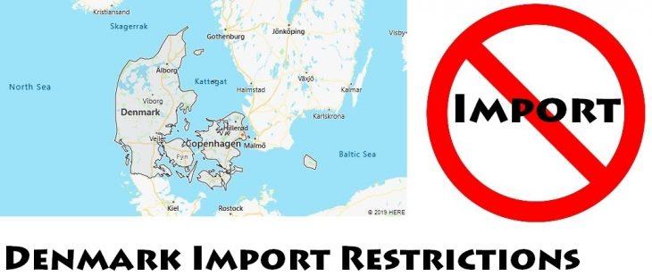 Denmark Import Regulations