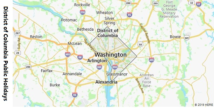 District of Columbia Public Holidays