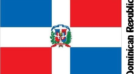 Dominican Republic Country Flag