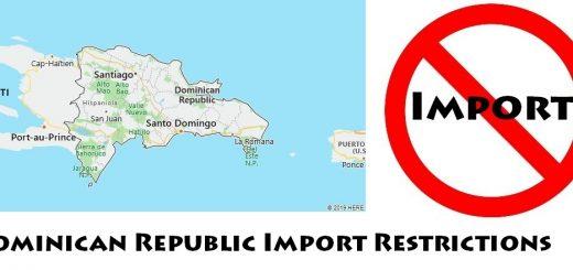 Dominican Republic Import Regulations