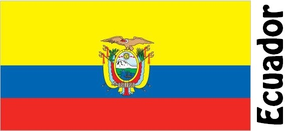 Ecuador Country Flag