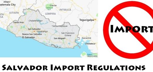 El Salvador Import Regulations