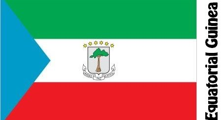 Equatorial Guinea Country Flag