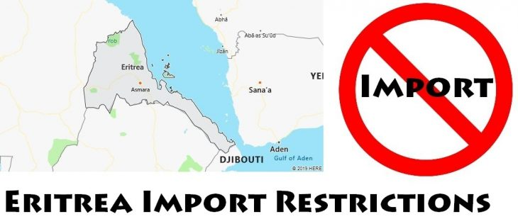 Eritrea Import Regulations