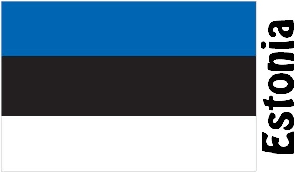 Estonia Country Flag