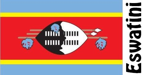 Eswatini Country Flag