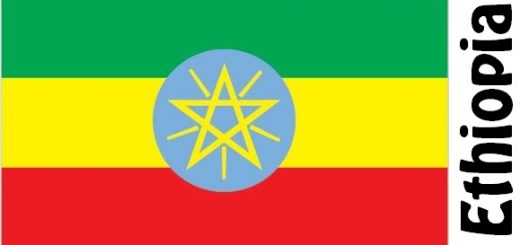 Ethiopia Country Flag