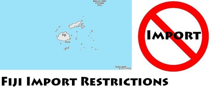 Fiji Import Regulations