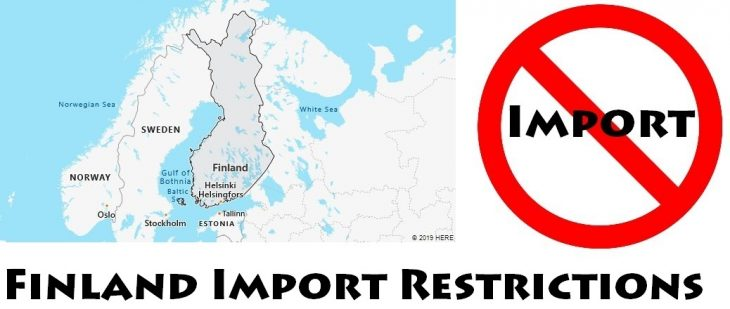 Finland Import Regulations