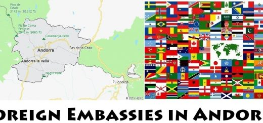 Foreign Embassies and Consulates in Andorra