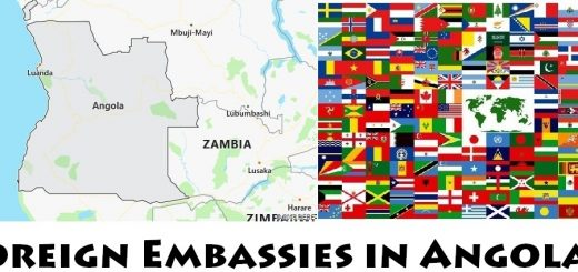 Foreign Embassies and Consulates in Angola