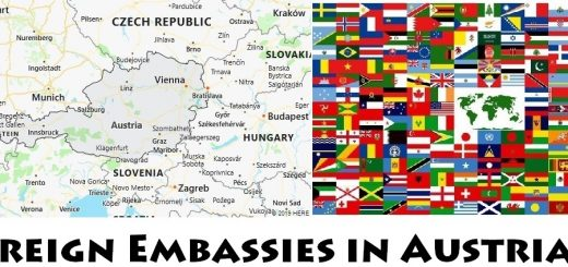 Foreign Embassies and Consulates in Austria