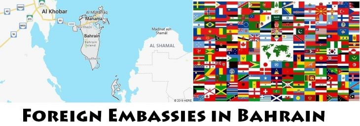 Foreign Embassies and Consulates in Bahrain