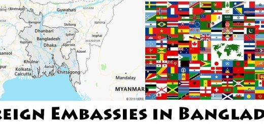 Foreign Embassies and Consulates in Bangladesh