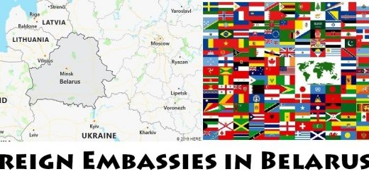 Foreign Embassies and Consulates in Belarus