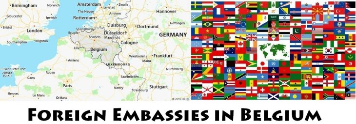 Foreign Embassies and Consulates in Belgium