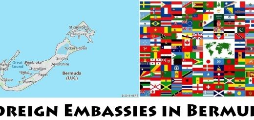 Foreign Embassies and Consulates in Bermuda