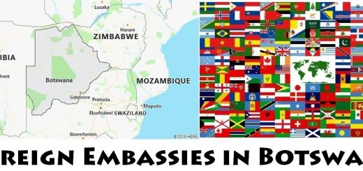 Foreign Embassies and Consulates in Botswana