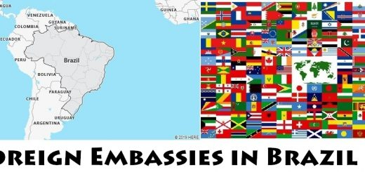 Foreign Embassies and Consulates in Brazil