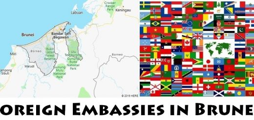 Foreign Embassies and Consulates in Brunei