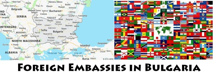 Foreign Embassies and Consulates in Bulgaria