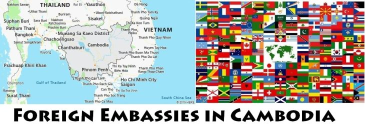 Foreign Embassies and Consulates in Cambodia