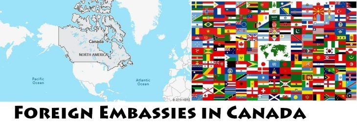 Foreign Embassies and Consulates in Canada