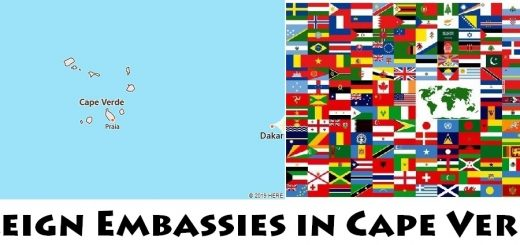 Foreign Embassies and Consulates in Cape Verde