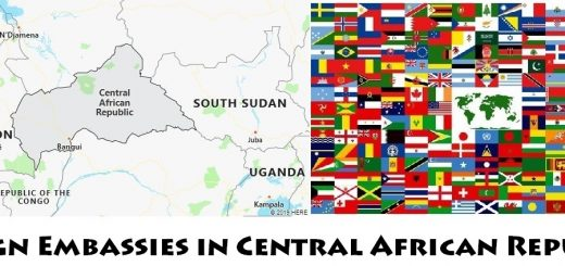 Foreign Embassies and Consulates in Central African Republic