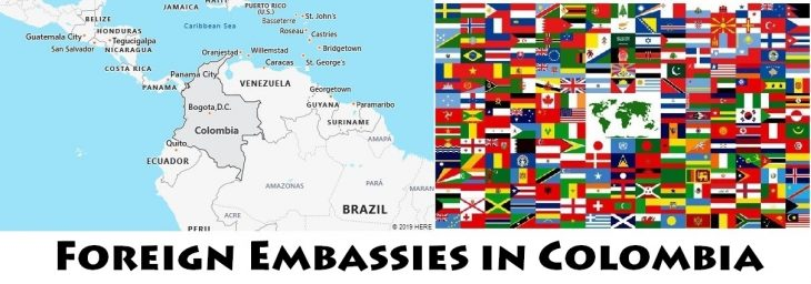 Foreign Embassies and Consulates in Colombia