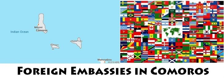 Foreign Embassies and Consulates in Comoros