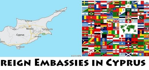 Foreign Embassies and Consulates in Cyprus
