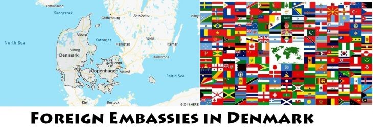 Foreign Embassies and Consulates in Denmark