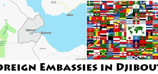 Foreign Embassies and Consulates in Djibouti