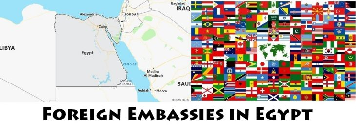 Foreign Embassies and Consulates in Egypt