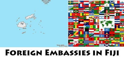 Foreign Embassies and Consulates in Fiji