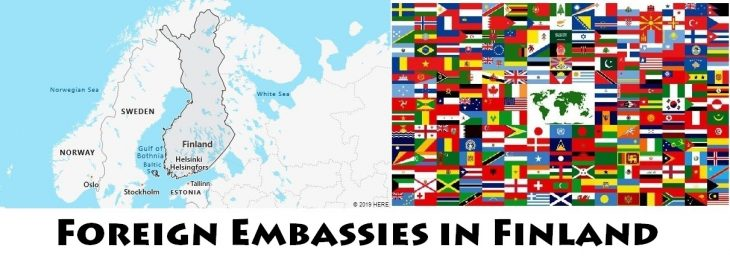 Foreign Embassies and Consulates in Finland