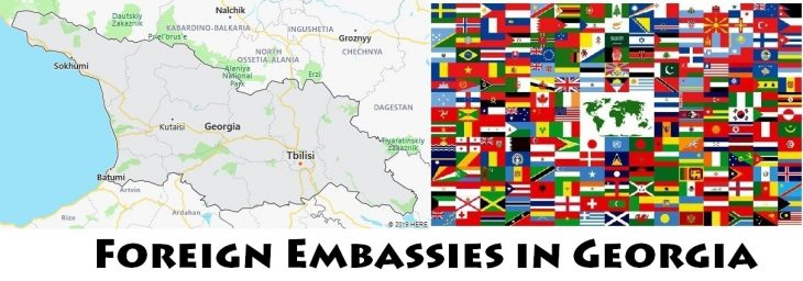 Foreign Embassies and Consulates in Georgia