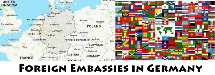 Foreign Embassies and Consulates in Germany