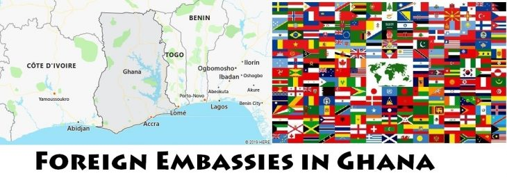 Foreign Embassies and Consulates in Ghana