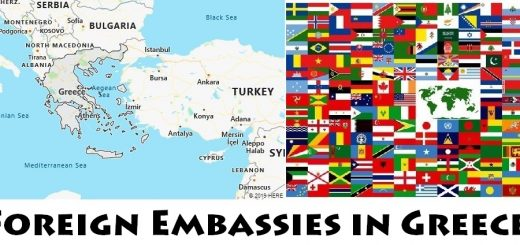 Foreign Embassies and Consulates in Greece