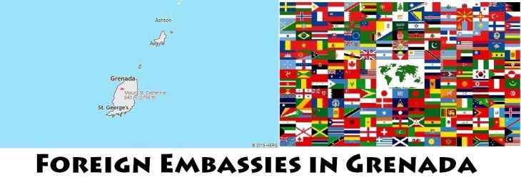 Foreign Embassies and Consulates in Grenada