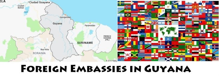Foreign Embassies and Consulates in Guyana