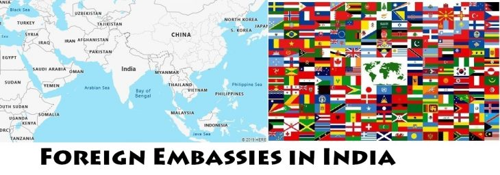 Foreign Embassies and Consulates in India