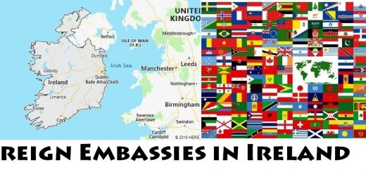 Foreign Embassies and Consulates in Ireland