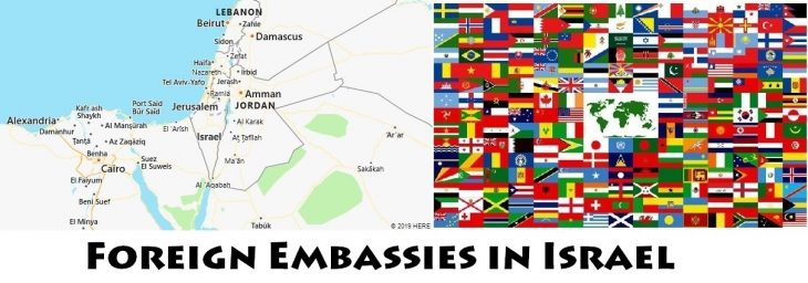 Foreign Embassies and Consulates in Israel