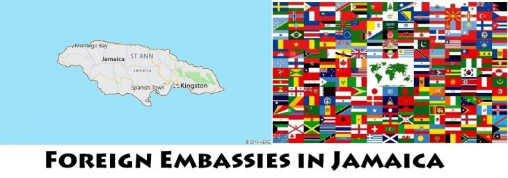 Foreign Embassies and Consulates in Jamaica