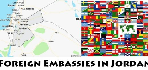 Foreign Embassies and Consulates in Jordan