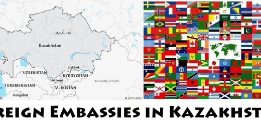 Foreign Embassies and Consulates in Kazakhstan