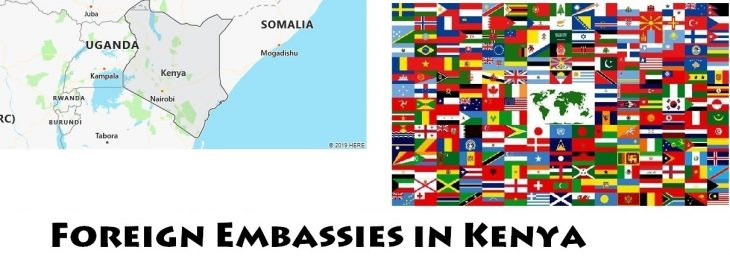 Foreign Embassies and Consulates in Kenya
